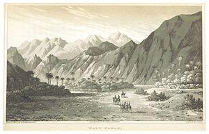 Wadi Feiran - WEBSTER(1830) 2.210 Wadi Feiran