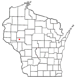 Location of Washington in Wisconsin