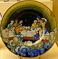 WLANL - MicheleLovesArt - Museum Boijmans Van Beuningen - Istoriato schotel, de maaltijd der Goden op de Olympus.jpg