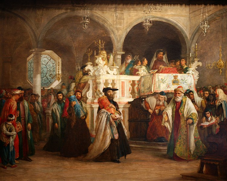 File:WLA jewishmuseum The Feast of the Rejoicing of the Law at the Synagogue.jpg