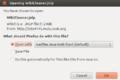 WPCleaner - Installation Ubuntu Desktop 12.04 OpenJDK6 - Firefox (en).png