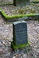 Waibstadt - Jüdischer Friedhof - Neuer Teil Reihe 7 - Grabstein Leo Tuch (1910-1912).jpg