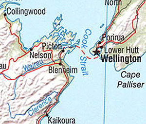 Wairau River Map