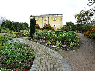 National Botanic Garden of Wales - Image: Wallace Garden and Principality House geograph.org.uk 1234460