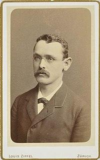 Walter Gröbli Born: 23 September 1852 in Oberuzwil, St Gallen canton, Switzerland; Died: 26 June 1903 in Piz Blas, Grisons canton, Switzerland