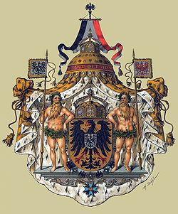 Escudo de armas grande del Emperador Alemán (1871-1918)
