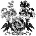 Wappen der Grafen Vrints von Treuenfeld und zu Falkenstein 1860.png