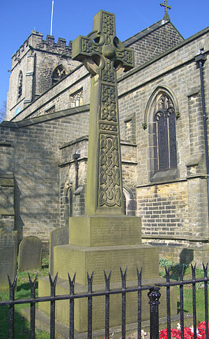 St Mary's Church, Bolsterstone - War Memorial.