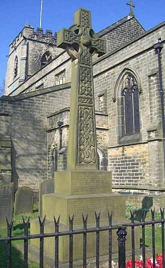 St Mary's Church, Bolsterstone - War Memorial.