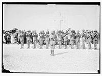 War cemetery, Gaza-Belah, April 28, 1925 LOC matpc.08234.jpg