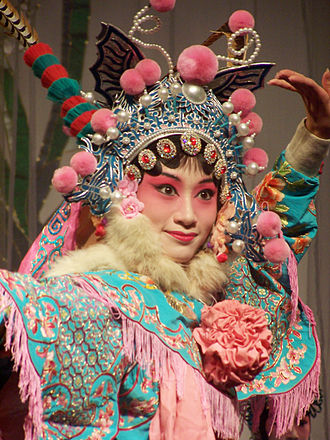 Kunqu - A Kunqu performer's portrayal of Hu Sanniang