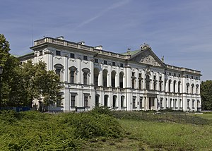 National Library of Poland - Special Collections Building: Krasiński Palace (Palace of the Commonwealth), Warsaw
