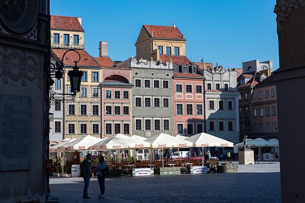 Place de la Vieille Ville de Varsovie - Photo de Tilman2007