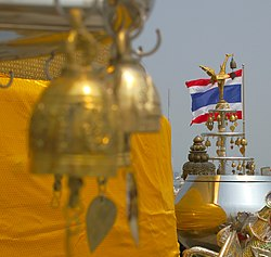 Wat Saket, Buddhist bells, Buddhism in Bangkok, Thailand.jpg