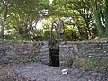 Water wheel at Llwyn-ysgaw - geograph.org.uk - 1491933.jpg