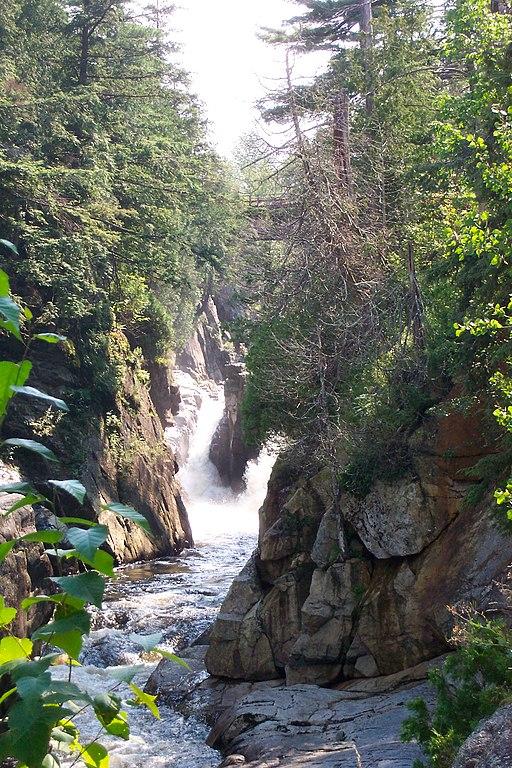 Waterfall Keen Valley Adirondacks NY VA