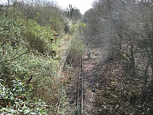 Watford West railway station - Image: Watford West railway station (disused) geograph.org.uk 735523