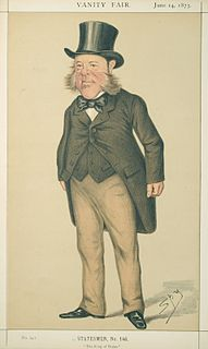 Sir Watkin Williams-Wynn, 6th Baronet British politician