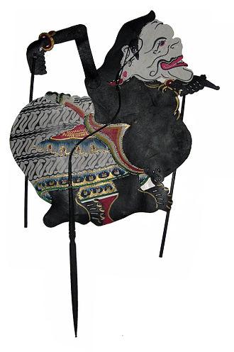Kejawèn - A Wayang puppet representing Semar