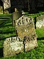 Weathered headstones - geograph.org.uk - 618323.jpg