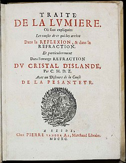 <i>Treatise on Light</i> Book by Christiaan Huygens