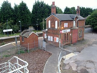 Weeley railway station