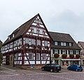 Weilheim an der Teck. Bürgerhaus, Marktpl. 4, 73235 (Nationales Denkmal) 01.jpg