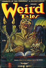 Weird Tales cover image for January 1946