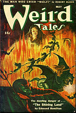 Weird Tales cover image for May 1945