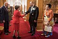 Welcome for HM King Tupou VI of the Kingdom of Tonga and HM Queen Nanasipau'u 02.jpg