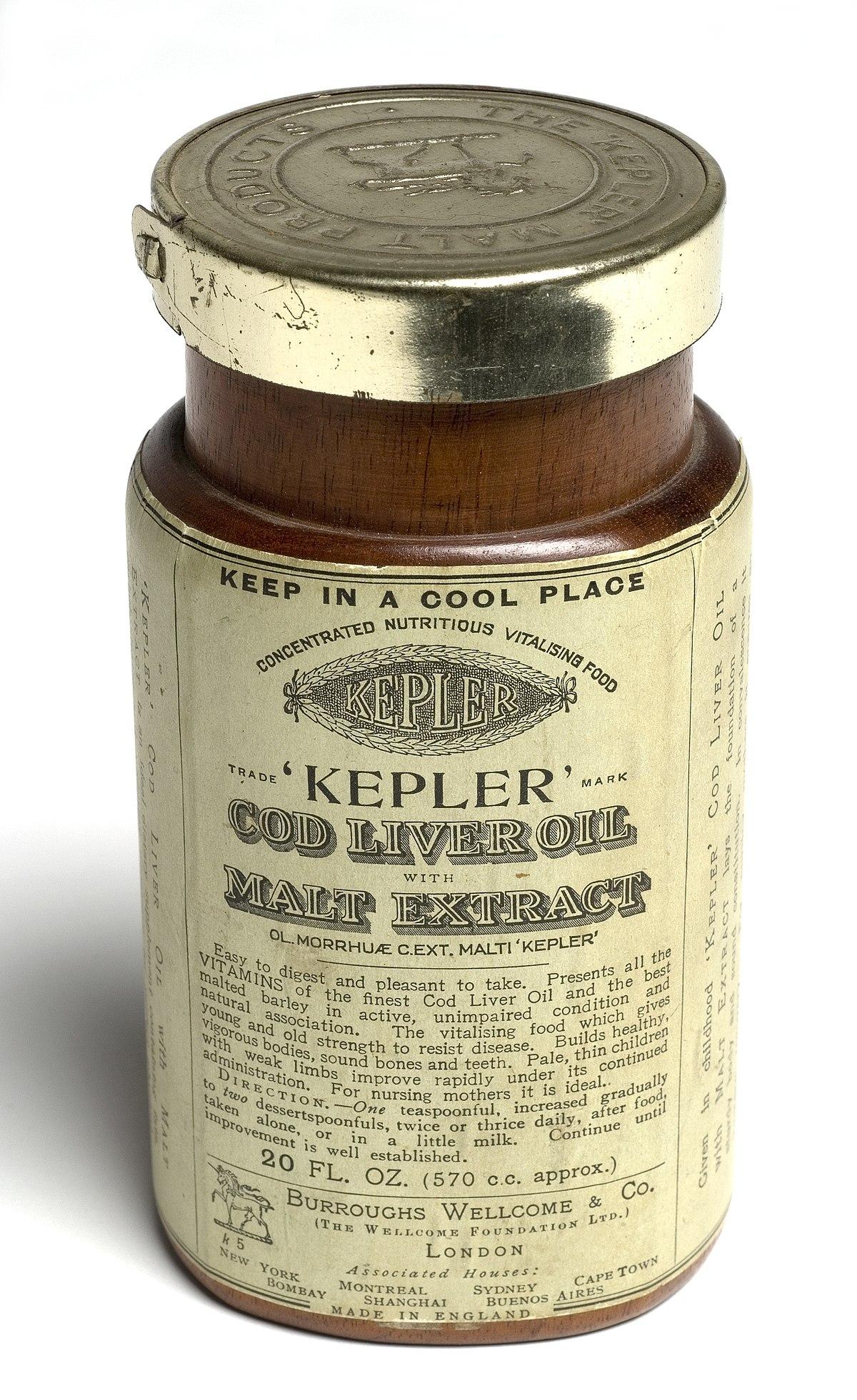 Cod liver oil - Wikipedia