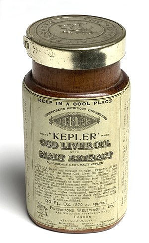 Cod liver oil - Kepler's Cod Liver Oil with Malt Extract