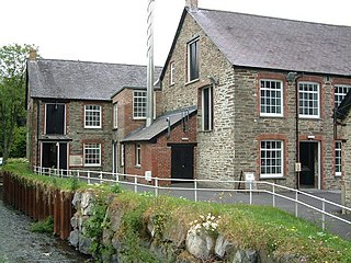 Industry museum in Carmarthenshire, Wales