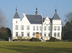 Wemmel Castle, former residence of the Marquess of Wemmel, now Town Hall.[1]