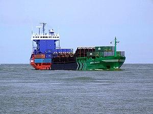 Werder Bremen IMO 9202259 approaching Port of Rotterdam 08-Jul-2007.jpg