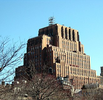 Western Union - Former headquarters of WU, located at 60 Hudson, New York, New York, United States, in the early and middle 20th century