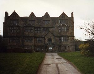 Weston, Staffordshire - Weston Hall, April 1988