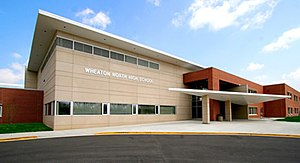 Wheaton North High School - Image: Wheatonnorth