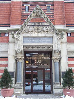 White Memorial Building (Syracuse, New York) - Image: White Building Door