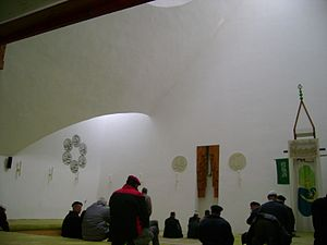 Šerefudin's White Mosque - Interior of mosque