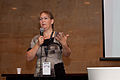 Wikimania 2009 - Florence Devouard- Improving collaboration.jpg