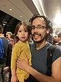 Wikimania 2017 by Deryck day 0 - 10 David and Erin.jpg