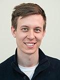 Wikimedia Summit 2019 - Portrait Vojtěch Dostál.jpg