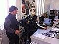 Wikipedian in Residence at Museu d'Art Jaume Morera- press presentation (6).JPG