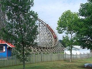Wildcat (Hersheypark) Wooden roller coaster at Hersheypark