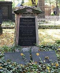 Wilhelm Gesenius Grab.JPG