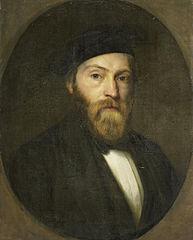portrait of Willem Frederik Wehmeyer (1819-54). Engraver