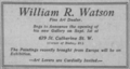 William R. Watson Montreal Gazette 1922.png