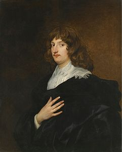 Ritratto di William Russell, I duca di Bedford, di Anthony van Dyck, 1640.