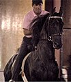 William Shatner riding Sultan's Great Day (cropped).jpg